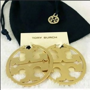 Tory Burch Jewelry - NEW Tory Burch Miller Hoops